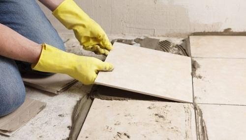 cara memasang keramik