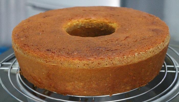 cara membuat kue bolu panggang agar mengembang