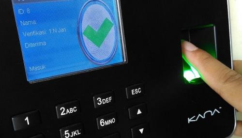 cara setting fingerprint